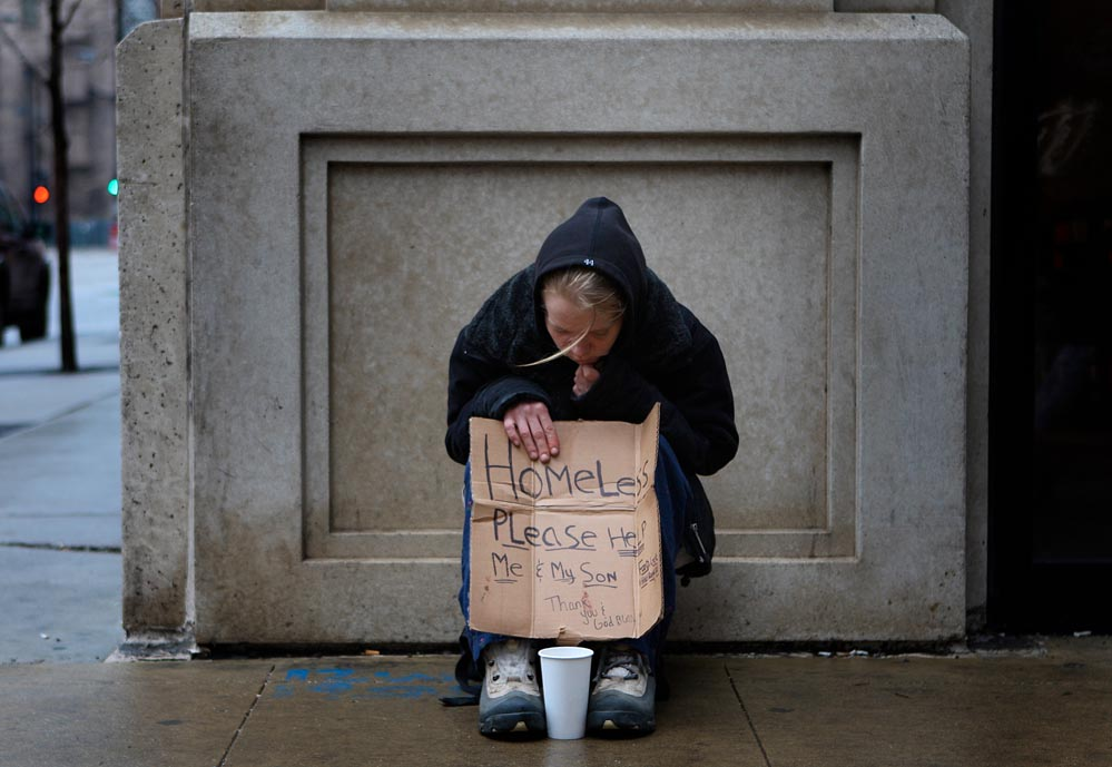 HomelessWoman picture photo